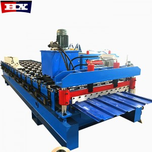 2019 Canton Fair Hot sale Fully Automatic Trapezoidal Tile Roof Metal Sheet 1020 1050 Roll Forming Machine