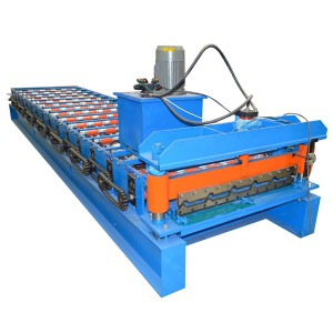 Supply OEM/ODM Metal Trapezoidal Zinc Roofing Sheet Making Machine