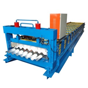 Best Price for Automatic Metal Sheet Pressing Machine Color Steel Roof Wall Panel Double Layer Roll Forming Machine