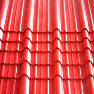 Top Suppliers Asapvc 30 Years Warranty Roofing Sheet Excellent Corrosion Resistance Villa House Roof Tile