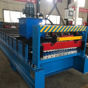 Roof And Wall Sheet Roll Forming Machine For Sale