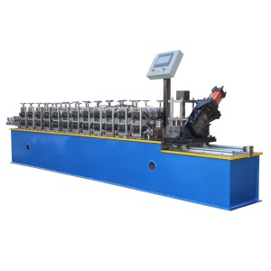 Bottom price Galvanized Metal Omega Profile Light Steel Keel Roll Forming Machine