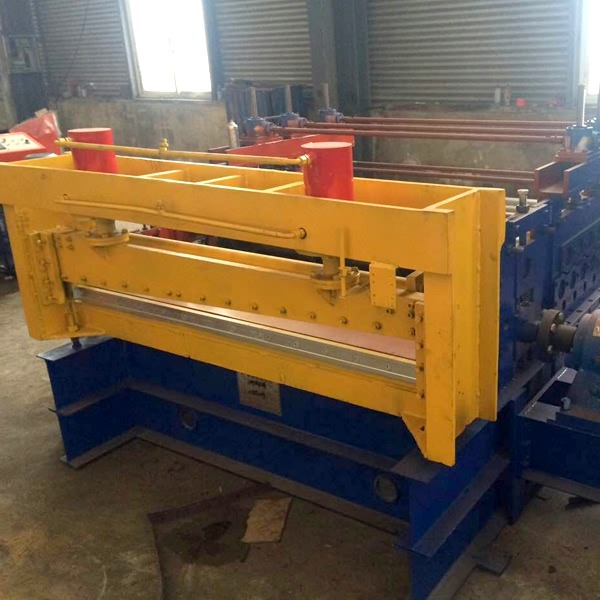 Europe style for Curved Corrugated Roof Panel Roll Forming Machine -
