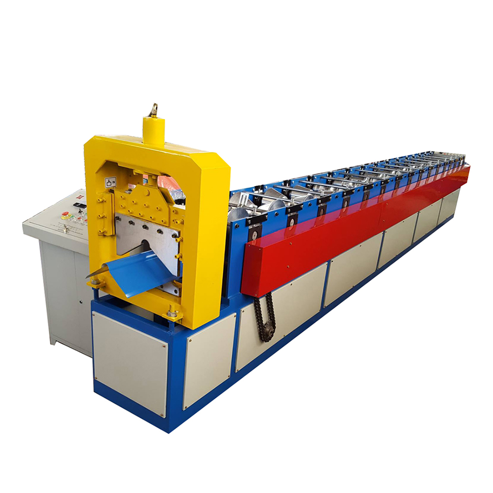 8 Year Exporter Colored Steel Roofing Sheet Arched Roll Forming Machine -