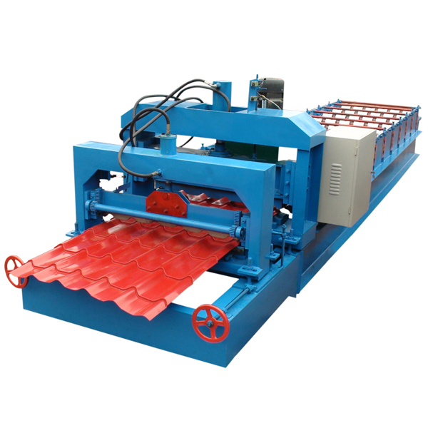 Lowest Price for Rain Gutter Downpipe Roll Forming Machine -