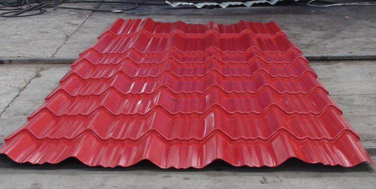Steel Metal Color Glazed Roof Sheet1