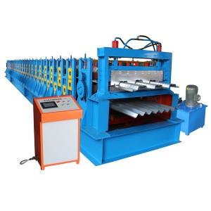 Factory wholesale Roof Wall Panel Double Layer Roll Forming Machine