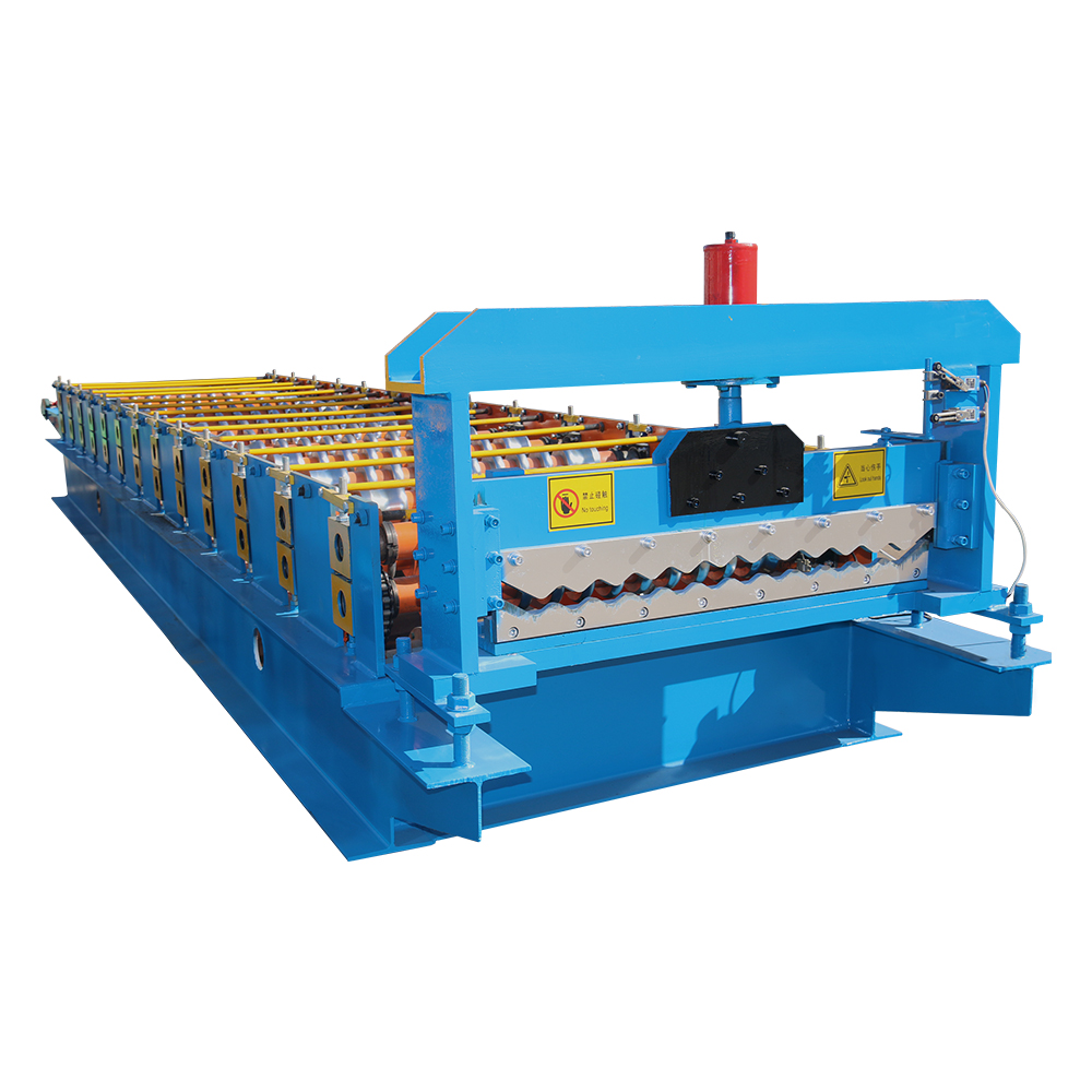 OEM manufacturer Steel Floor Decking Roll Forming Machine -