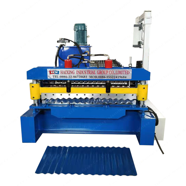 Corrugated Roof Metal Sheet Cold Roll Forming Machine Featured Image