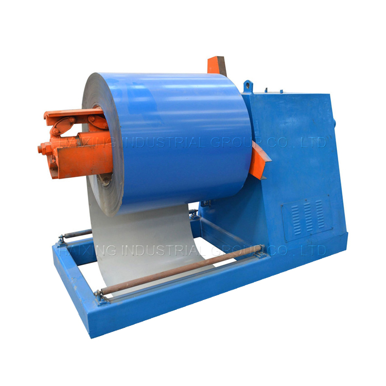 decoiler and coil