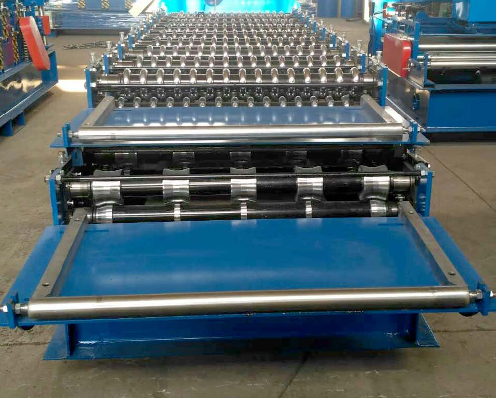 double layer machine-corrugated and trapezoidal13