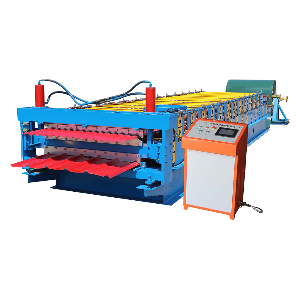 Free sample for Automatic Steel Downspout Forming Machine -