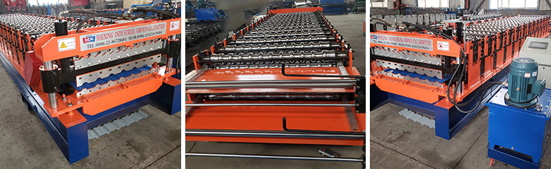 double layer roof machines