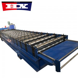 Metal Glazed Roofing Roll Forming Machine