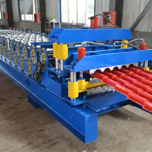 Styled Glazed Metal Roof Tile Forming Machine
