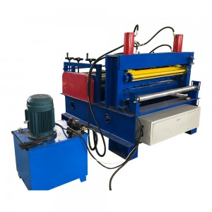 Sheet Metal Straightening And Cutting Machine