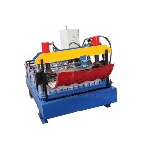 Arch Roof Building Roll Forming Machine