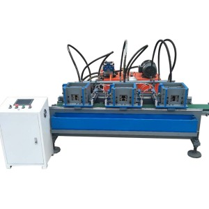 Automatic Main Tee Cross Making Machine