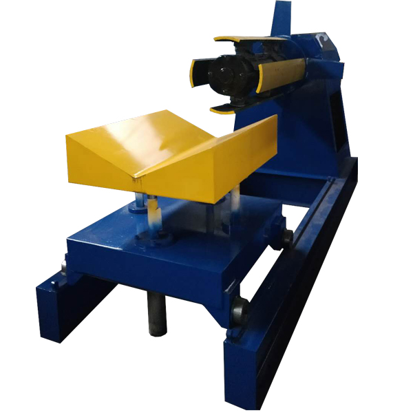 Factory Cheap Gutter Rolled Forming Machine - Hydraulic Steel Decoiler With Coil Car – Haixing Industrial