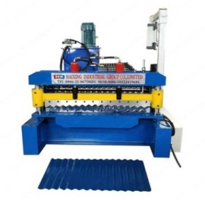 High quality roofing sheet machines, ribbed aluminum roofing machine