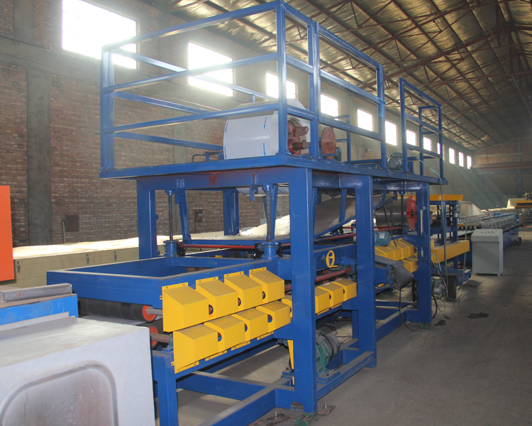Eps Sandwich Wall Panel Forming Machine2