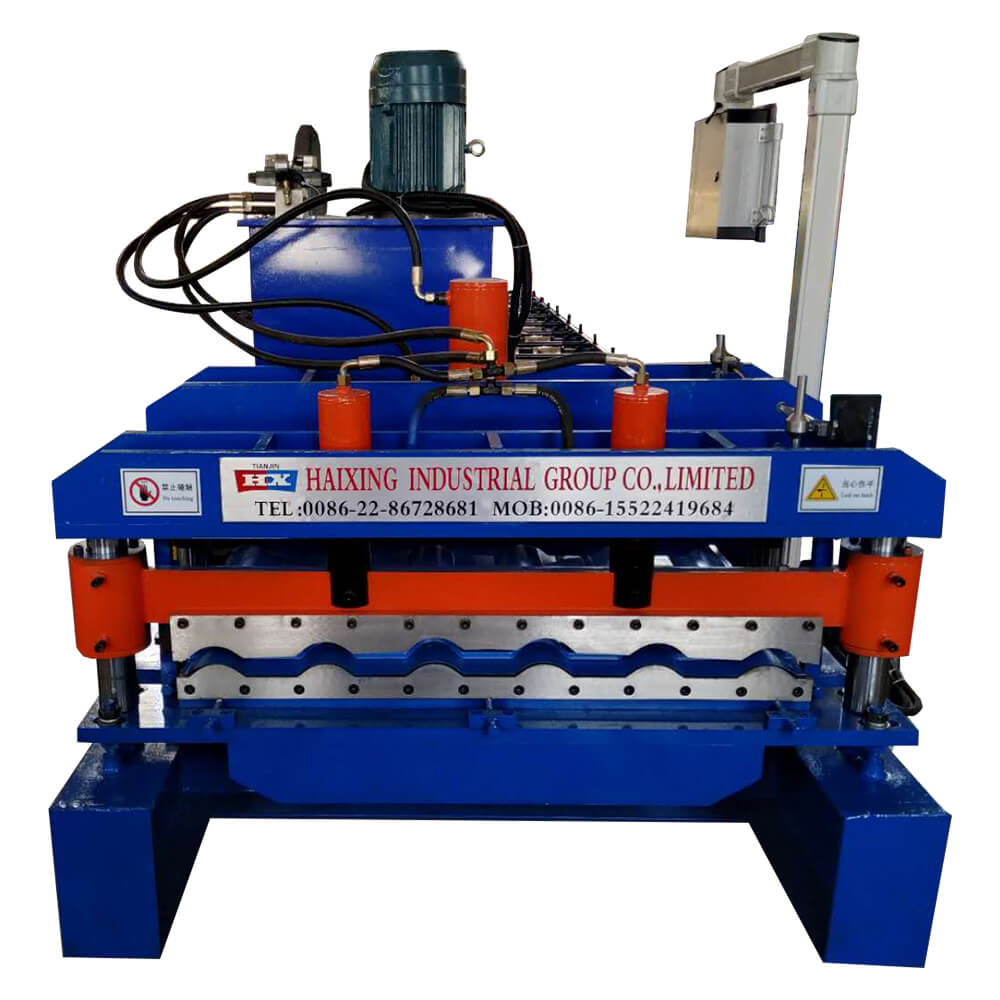 High speed glazed tile metal steel roof tile roll forming machine Featured Image