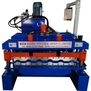 Metal Roofing Sheets Machine
