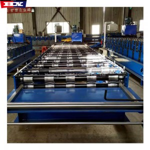 Roofing sheet trapezoidal steel tile roll forming machine