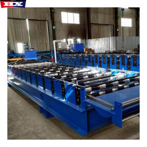 Steel Trapezoidal Sheet Roof Wall Panel Machine