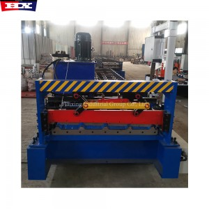 colorful trapezoidal steel sheet for roofing machine