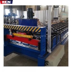High Speed Metal Trapezoidal Roof Sheet Roll Forming Machine