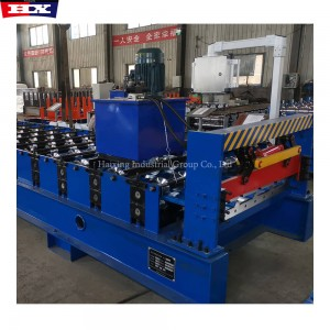 1000mm design trapezoid automatic metal roof tile making machine