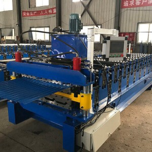 Metal Roofing Sheet Corrugating Iron Sheet Roll Forming Making Machine