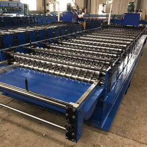 Corrugated Steel Metal Roof And Wall Sheet Roller Machine