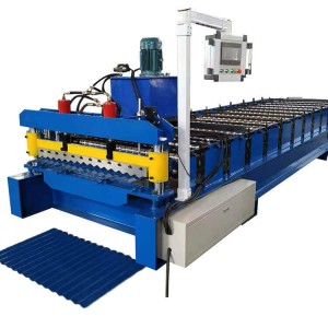 Metal Roof Sheet Corrugated Rolling Making Machine