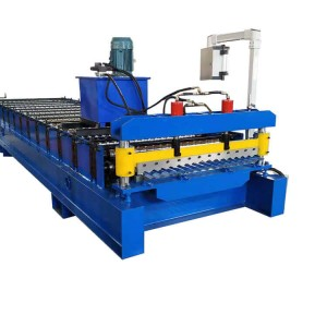 OEM Manufacturer China Ibr/ Trapezoidal/ Corrugated Steel Roof Sheet Roll Forming Machine