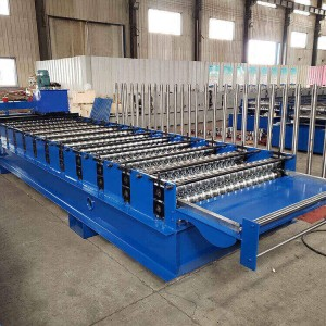 Metal Roofing Corrugated Sheet Making Machine