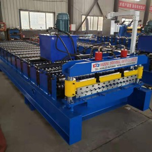 metal roofing panel corrugated tile roll forming machine
