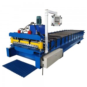 corrugated roof sheet making machine price in india