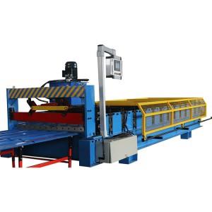 galvanized steel roofing sheet machine