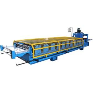 Color Steel Aluminum Trapezoidal Sheet Machine