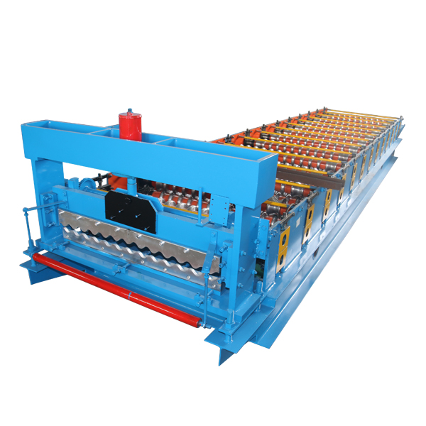 Factory Outlets Corrugated Sheet Manufacturing Machine - Corrugated metal roofing sheet machine – Haixing Industrial