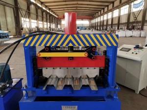 Automática cubierta de color de laminación de acero haciendo que forma la máquina de cubierta de piso