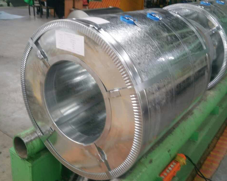 Zinc Coated Galvanized Steel Coil1