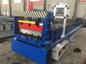 690mm Galvanized Steel Sheet Floor Decking Panels Roll Forming Machine
