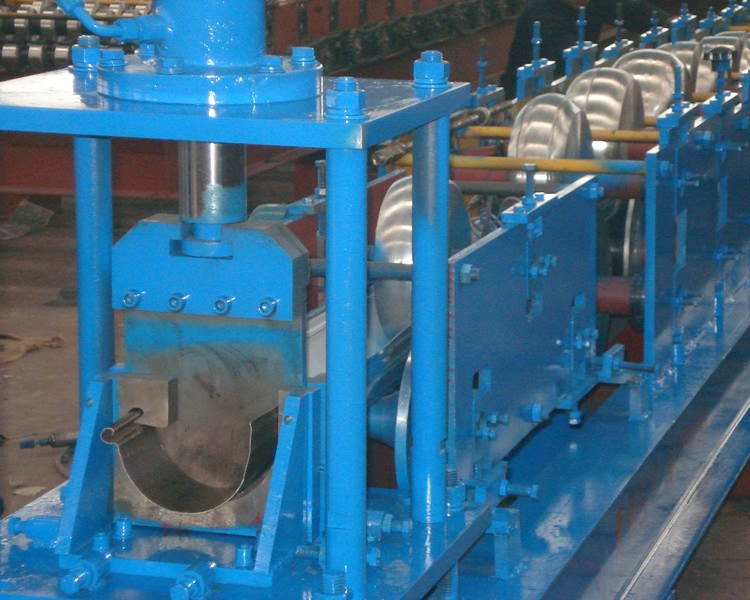 Rain Gutter Cold Roll Forming Machine21