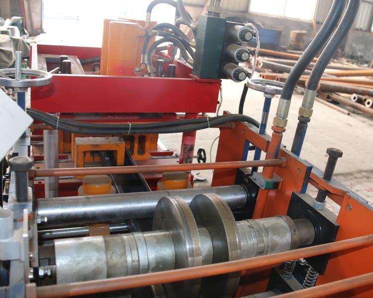 U Section Purlin Roll Forming Machine21
