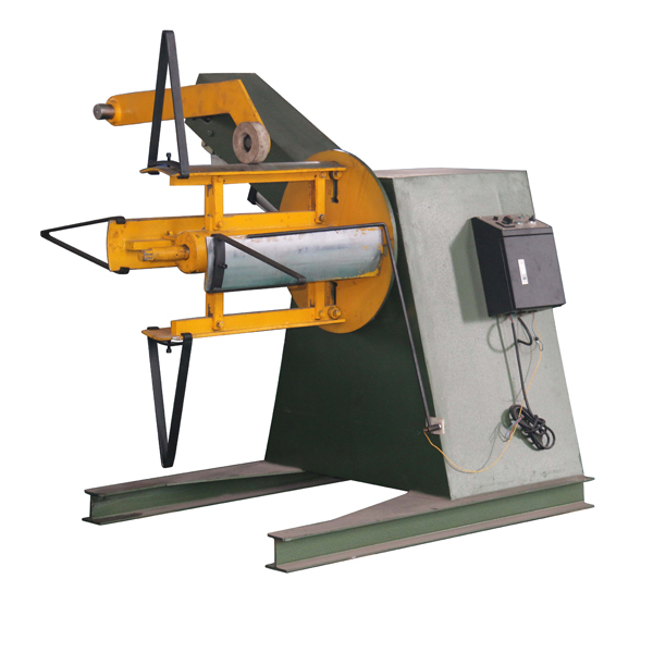 China Cheap price Stone Coated Roof Tile Machine Line - 10 tons hydraulic decoiler – Haixing Industrial