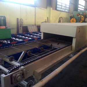 Steel Colored Stone Coated Production Line