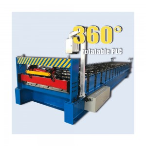 zinc tile making trapezoidal roll forming machine